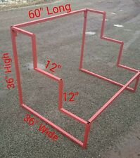 MARKET STALL 3 STEP METAL DISPLAY SHOE STAND