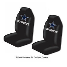 Northwest NFL Dallas Cowboys Car Truck 2 Front Bucket Seat Covers Set