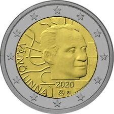 Finland 2020 - Väinö Linna - 2 euro CC - UNC