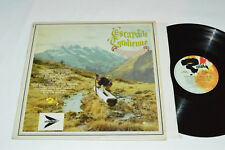 ESCAPADE TYROLIENNE Various LP Riviera Canada 40043 Austria German World Music