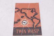 TWIN WASP SALES MARKETING BROCHURE - PRATT & WHITNEY U.S.A.