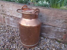 Lovely French Vintage Copper Milk Churn Ref T22/100