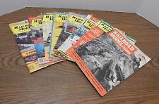 EIGHT 1952 '57 '74 '80 Railroad Model Craftsman Magazines Jan May Jul Oct Dec