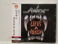 Raven - Life's A Bitch 1987/2015 Warner Music Japan Edition OBI Rare OOP HTF Pro