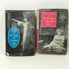 2x Diana Cooper Novels Rainbow Comes & Goes Light of Common Day #915