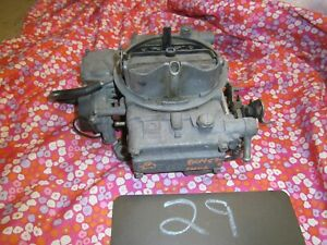 USED HOLLEY 600 CFM CARB CARBURETOR PROJECT STREET DRAG HOT RAT ROD OLD V8 CORE