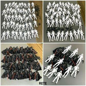 Lot Star Wars Darth Vader Clone Trooper Stormtrooper 3.75'' Figures Kid Toy Gift