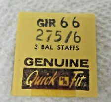 66 Balance Staff Watch New Old Stock Girard Perregaux