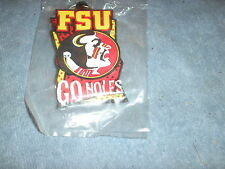 "Florida State University Swivel Keychain ""Go Noles"""