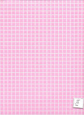 "Pink Tile Floor Sheet FF60630 Plastic Handley House 1"" scale doll 1p"