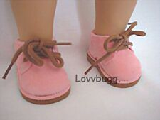 "Pink Desert Boots Shoes for 15-""18 American Girl Doll Lovvbugg Widest Selection"