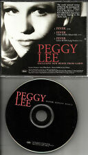 PEGGY LEE Fever w/ RARE REMIX  EDIT & LONG VERSION PROMO RADIO DJ CD single 2003