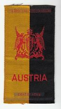 [42934] OLD TOBACCO SILK AUSTRIA COAT OF ARMS