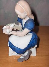Vintage B&G Bing & Grondahl Ida's Flowers Girl With Tulips #2298 Figurine