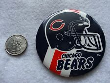 Chicago Bears     *VINTAGE*       *1988* Football  Button / Pin      3 inches