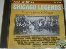 CD JAZZ ARCHIVES 193 CHICAGO LEGENDS SWEET HOME CHICAGO