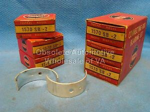 49 50 Oldsmobile 257 Rod Bearing Set 002 Futuramic 76 Series Model 35 6 Cyl