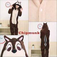 Animal Unisex Onesiee Kigurumi Fancy Dress Costume Hoodies Pajamas Sleep wear