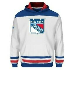 NHL New York Rangers Hooded Sweatshirts Youth Sizes NEW