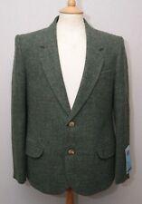 """David Luke boy's Scottish school green wool tweed daywear kilt jacket 36"""" 90cm"""