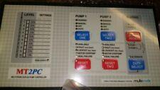 Flygt Key Pad Multitrode Mt2pc Duplex Pump Controller New Part 84 800052