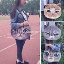 New 3D Fashion Cute Animal Face Shopping / Shoulder Handbag Pug Cat