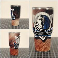 Yeti Ozark Oz 30 Oz Dallas Mavericks Mavs Custom Wrapped Cup Rambler Tumbler