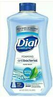 Dial Foaming Antibac Hand Soap Spring Water 40oz Refill Kills and Bacteria