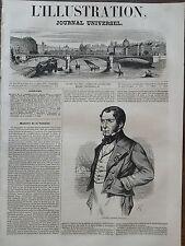 "L' ILLUSTRATION 1847 N 205 ALEXANDRE BIGOT dit ""CABOCHE"", PORTEFAIX  D' ORLEANS"