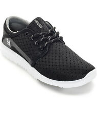 Etnies Womens Scout  Athletic Sneaker Black White Size 8.5 New With Box$60