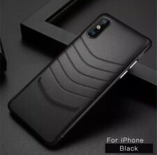 Iphone X Ultra Thin Leather Black Case
