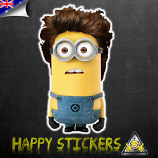 Minion Harry One Direction Luggage Car Skateboard Laptop Luggage Decal Sticker