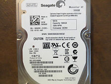 "Seagate ST95005620AS 9UZ154-032 FW:DEM4 WU 500gb 2.5"" Sata Hard Drive"