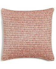 "Hallmart Collectibles Coral Textured 18"" Square Decorative Pillow"
