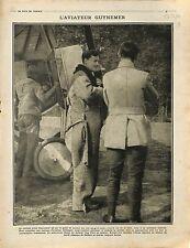 Aviateur Capitaine Georges Guynemer Pilote SPAD XIII/ prisoner soldats 1916 WWI