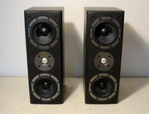 B&W BOWERS & WILKINS LCR S3 STEREO LOUDSPEAKERS XCLNT MAIN AUDIOPHILE SPEAKER 60