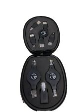 New listing Targus Usb Adapter Set (8) In Canvas Case—PreOwned—Free Us Shipping!