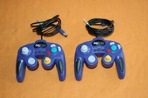 2 Stück Controller lila Big Ben für Nintendo Gamecube
