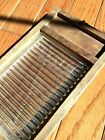 Vintage Crystal Embossed Glass Washboard Miniature Toy sized sample