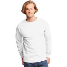 Hanes Tagless Long-sleeve T-shirt 5586 White M