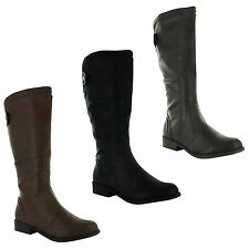 Block Slip on Unbranded Knee High Women's Boots