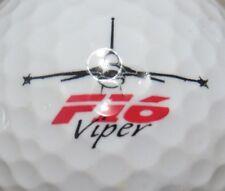 F - 16 VIPER AIR FORCE  LOGO GOLF BALL