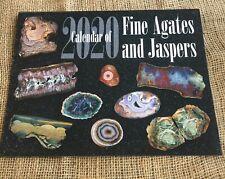 2020 CALENDAR OF FINE AGATES AND JASPER