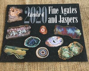 COLLECTIBLE  2020 CALENDAR OF FINE AGATES AND JASPER