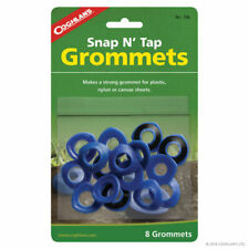 COGHLANS REPLACEMENT TARP GROMMETS PLASTIC CANVAS & NYLON BUSHCRAFT CAMPING TENT