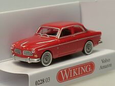 Wiking Volvo Amazon, Red - 0228 03 - 1:87