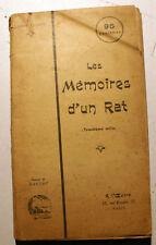 14-18/MEMOIRES D'UN RAT(DE TRANCHEE)/P.CHAINE/DESSINS DE HAUTOT/1916/EO