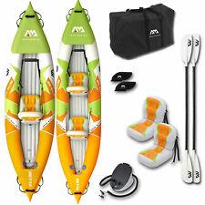 Aqua Marina Inflatable Betta Kajak Kayak Kanu Tourenkajak 1er | 2er Boot NEU SET