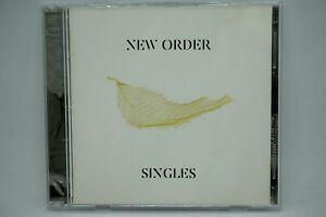 New Order : Singles    2CD Album -  Blue Monday/True Faith/Bizarre Love Triangle