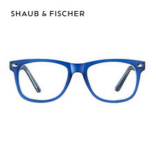 Shaub & Fischer Blue Myopia Near Short Sighted Distance Glasses -0.25 to -6.00